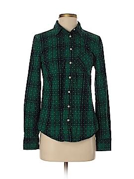 Merona Long Sleeve Button-Down Shirt Size S (Petite)