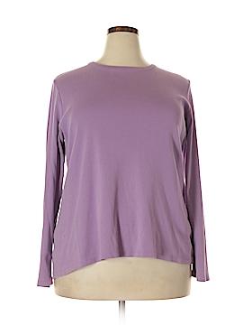 Lands' End Long Sleeve T-Shirt Size 1X (Plus)