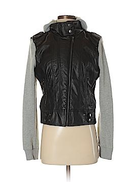Last Kiss Faux Leather Jacket Size S