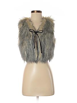 W118 by Walter Baker Faux Fur Vest Size S