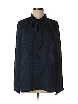 Stylus Long Sleeve Blouse Size 1X (Plus)