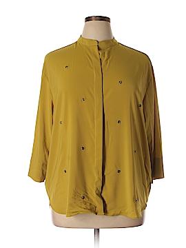 Elvi 3/4 Sleeve Blouse Size 14 (Plus)