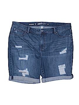 Jennifer Lopez Denim Shorts Size 18 (Plus)