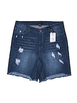 FASHION TO FIGURE Denim Shorts Size 18 (Plus)
