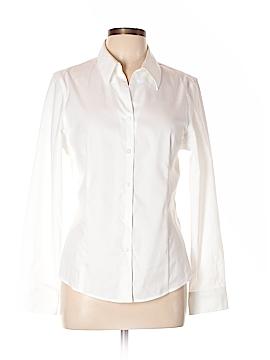 Kasper Long Sleeve Button-Down Shirt Size 10