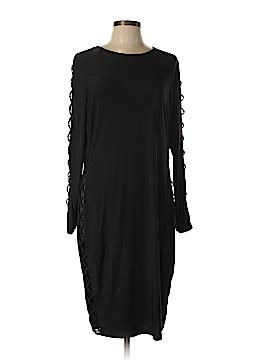 FASHION TO FIGURE Casual Dress Size 1X Plus (1) (Plus)
