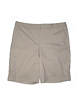 Jaclyn Smith Khaki Shorts Size 18 (Plus)