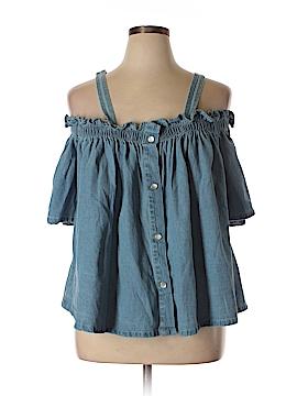 FASHION TO FIGURE 3/4 Sleeve Blouse Size 2X Plus (2) (Plus)