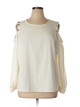G by Giuliana Rancic Long Sleeve Blouse Size 1X (Plus)