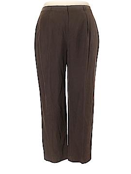 Jones New York Silk Pants Size 18 (Plus)