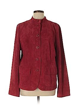 Liz Claiborne Leather Jacket Size XL