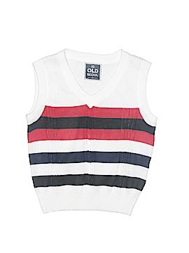 Old Skool Sweater Vest Size 2T