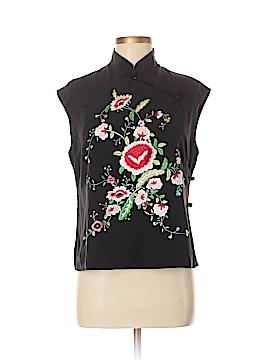 Sue Wong Sleeveless Silk Top Size M