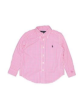 Ralph Lauren Long Sleeve Button-Down Shirt Size 4T