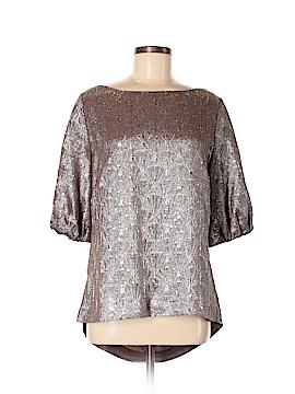 Ports 1961 Short Sleeve Silk Top Size 14