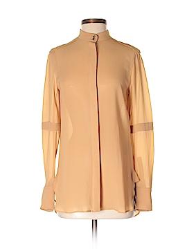 Belstaff Long Sleeve Silk Top Size 38 (IT)