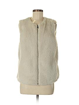 Old Navy Faux Fur Vest Size M