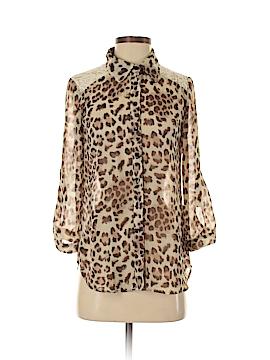 BCX Long Sleeve Blouse Size S