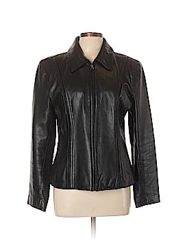 Jones Wear Leather Jacket Size L