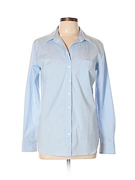 Elliott Lauren Long Sleeve Button-Down Shirt Size 10
