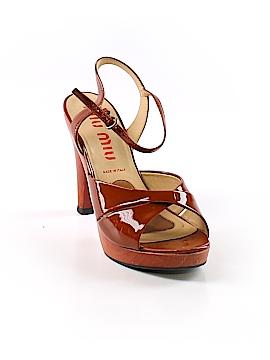 Miu Miu Heels Size 37.5 (EU)