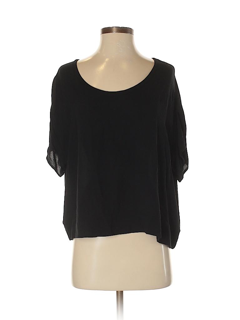 Bella Luxx Women Short Sleeve Blouse Size XS