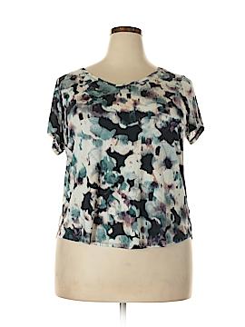 Simply Vera Vera Wang Short Sleeve T-Shirt Size 1X (Plus)