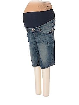 Oh Baby By Motherhood Denim Shorts Size L (Maternity)