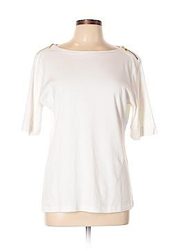 Karen Scott Short Sleeve Top Size L