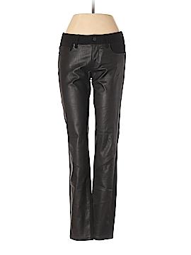 Paige Faux Leather Pants 25 Waist