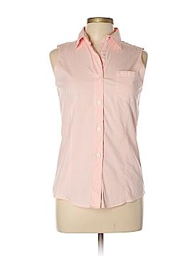 DKNY Sleeveless Button-Down Shirt Size 8