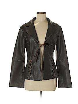 Rampage Faux Leather Jacket Size M
