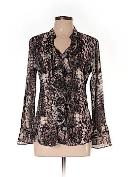 Style&Co Long Sleeve Blouse Size 14 (Petite)