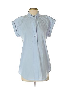 J. Crew Short Sleeve Button-Down Shirt Size 2