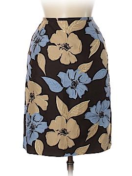 Casual Corner Silk Skirt Size 6