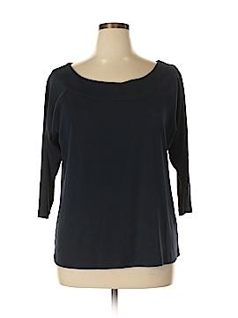 Rafaella 3/4 Sleeve Top Size 1X (Plus)