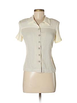 Jeffrey & Dara Short Sleeve Button-Down Shirt Size 6