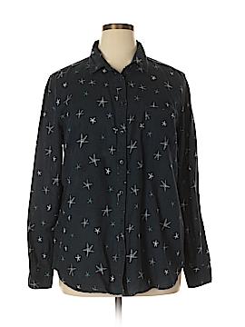 J. Crew Long Sleeve Button-Down Shirt Size XL