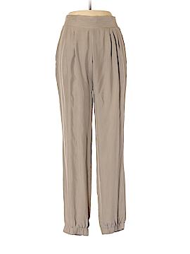 Emporio Armani Silk Pants Size 42 (IT)