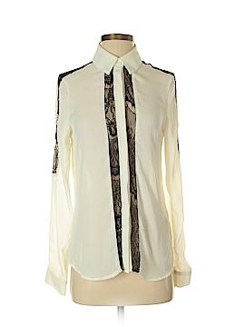 Nicole Miller Long Sleeve Button-Down Shirt Size XS