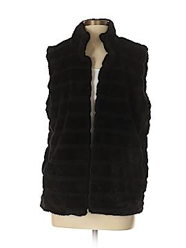 Talbots Faux Fur Jacket Size Sm - Med
