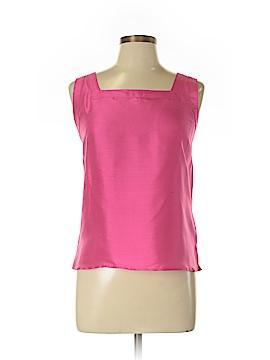 Neiman Marcus Sleeveless Silk Top Size L