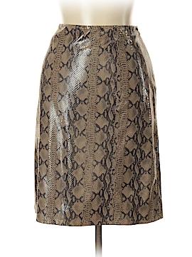 Eccoci Leather Skirt Size 14
