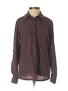 I Heart Ronson Long Sleeve Button-Down Shirt Size XS
