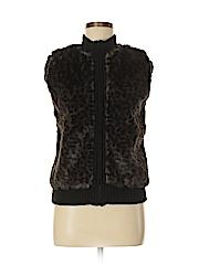 Love Lola Women Faux Fur Vest Size S