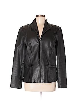 JLC New York Leather Jacket Size M