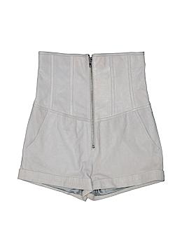 Banana Republic Leather Shorts Size 4