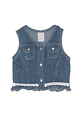 Children's Apparel Network Denim Vest Size 5