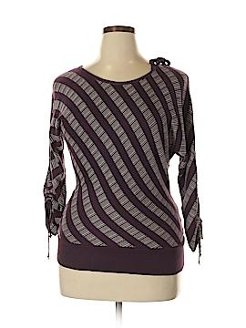 Split Pullover Sweater Size L