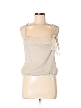 Saja Sleeveless Silk Top Size M